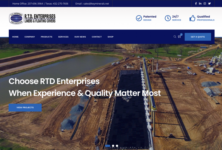 RTD LAUNCH OF NEW WEBSITE